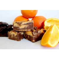 Chocolate and Orange 150g Fudge