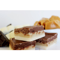 Trio - Chocolate, Caramel and Vanilla 150g Fudge