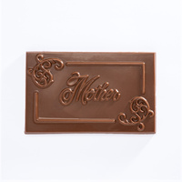 Chocolate Mum Plaque White