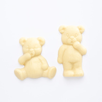 6 Chocolate Lil Bear Treats White