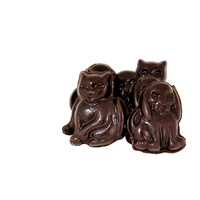 9 Cats & Dogs Dark Chocolate with Sprinkles