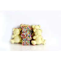 Lil White Chocolate Bear Treats 6 Pack (with Sprinkles)