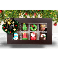 8 piece Christmas Chocolate Fudge Gift Box